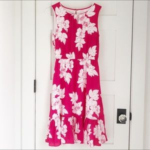 Pink Talbots floral dress